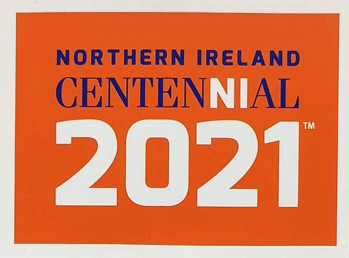 CentenNIal Orange Vinyl Sticker