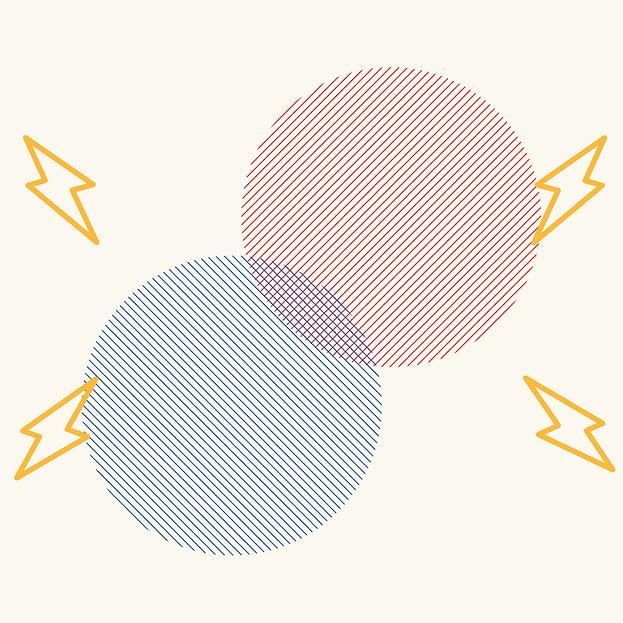 Geometric Circles Simple Album Cover (2)