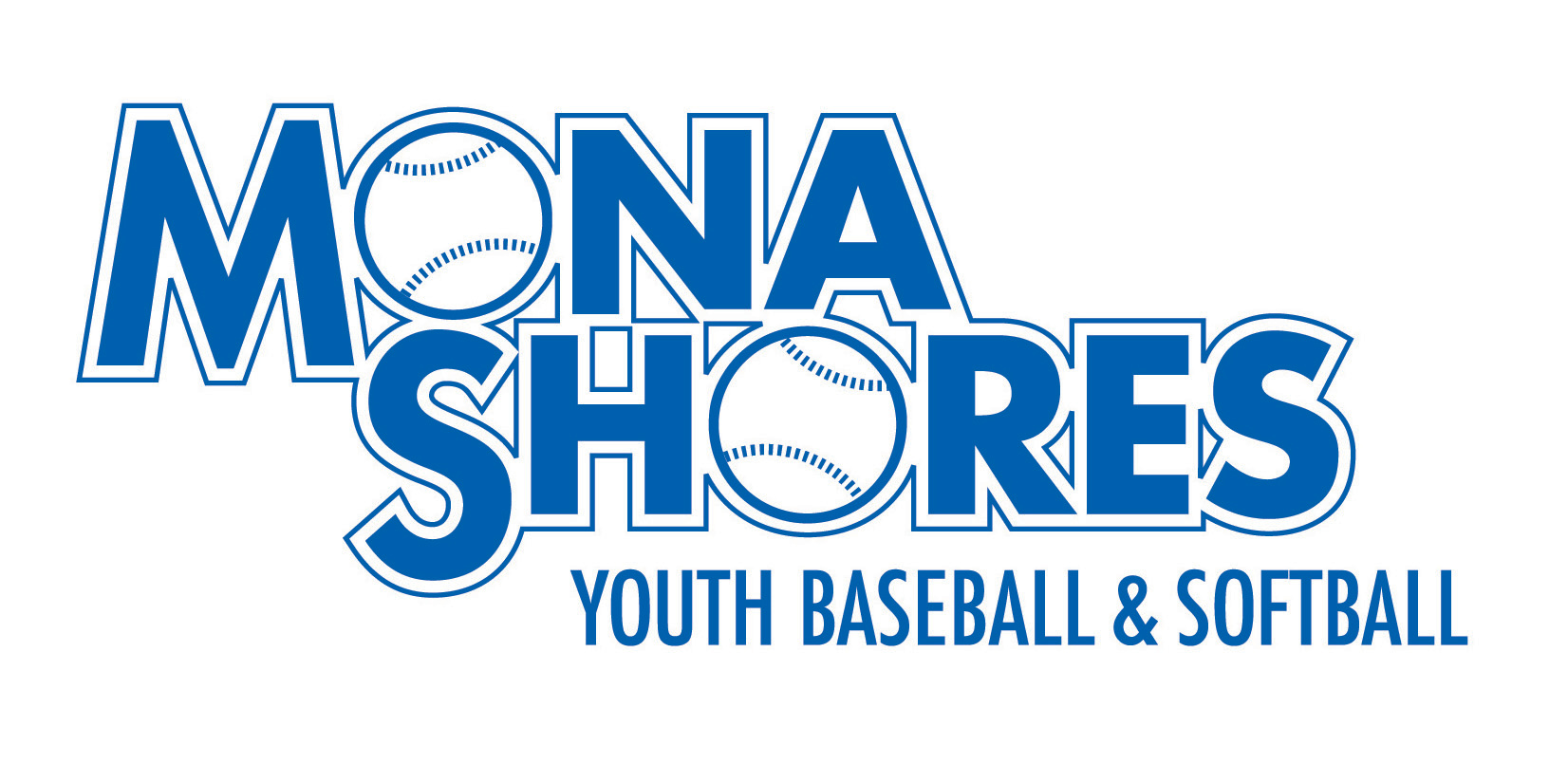 Mona Shores Baseball/Softball logo