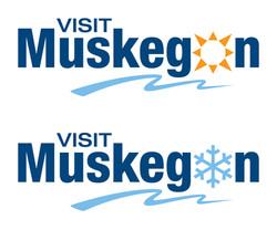 Visit Muskegon logos