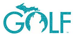Golf Michigan logo design