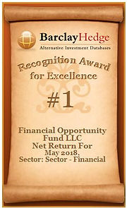 FOF LLC - Recognition Award for Excellen