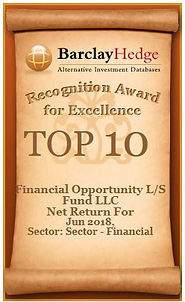 LS LLC - Recognition Award for Excellenc