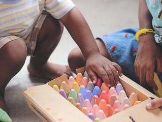 Organizando o espaço para viver, aprender e brincar