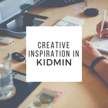 Creative Inspiration in Kidmin