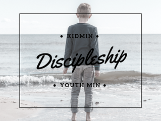 Discipleship in KidMin and Youth Min