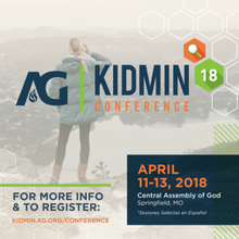 I Attended the AG KidMin Conference and…