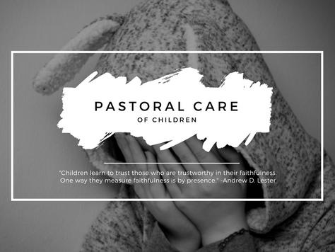 Pastoral Care of Children