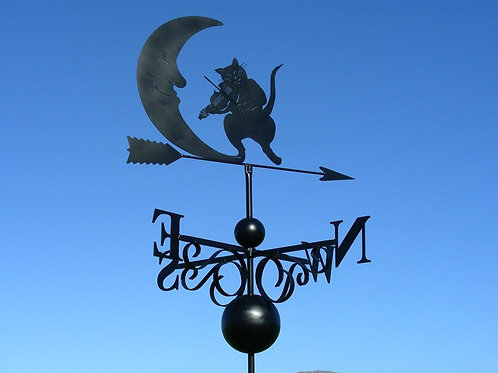 The Moon & Cat Playing Fiddle