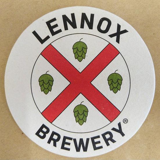 Lennox Brewery Beer Mats