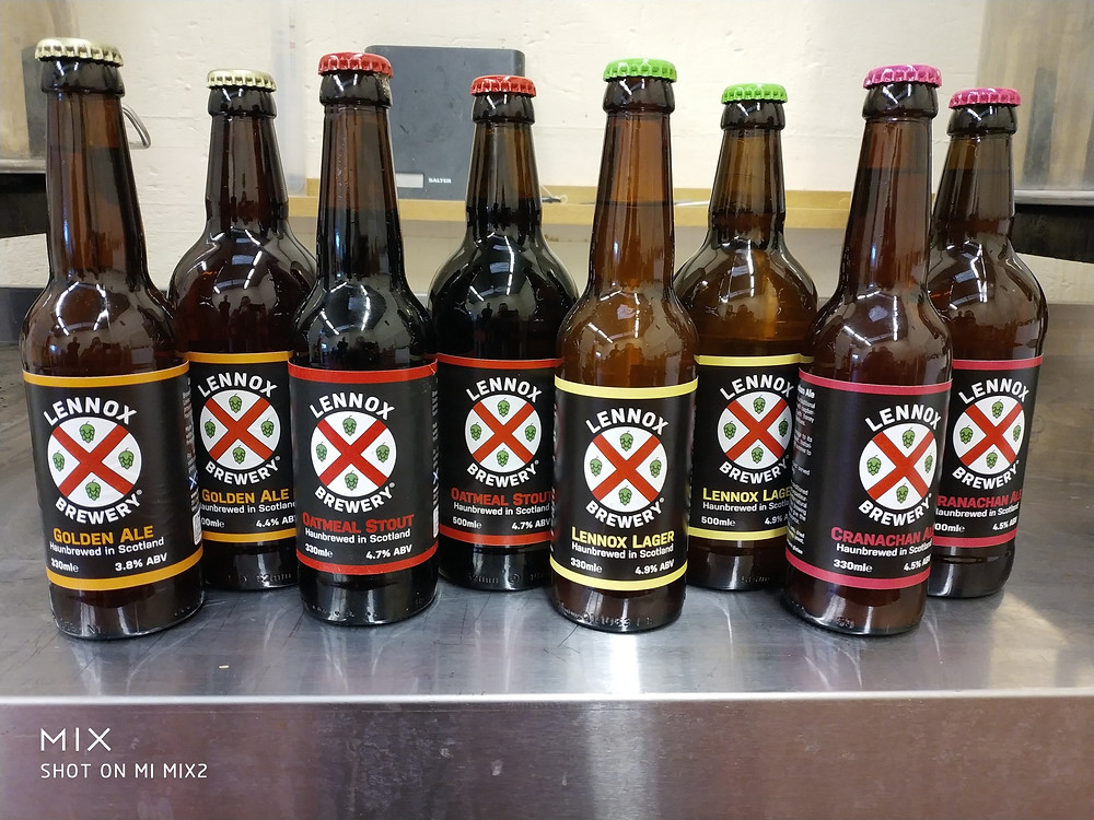 A selection of our bottles of beer