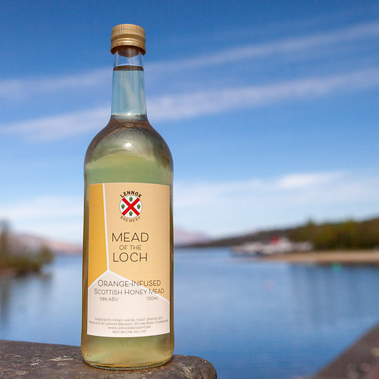 Orange-infused Mead of the Loch (750ml)