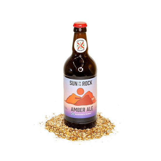 Sun on the Rock Amber Ale