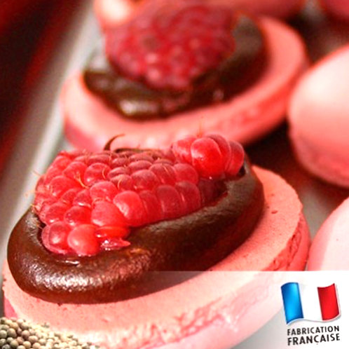 Bougie petite bonbonnière Framboise caramel