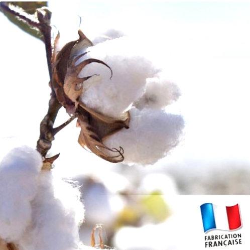 Bonbonnière bougie Fleur de coton
