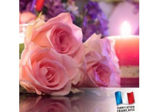 Bougie parfumée Mini pot de confiture Rose
