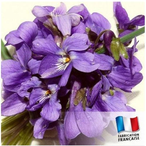 Bougie petite bonbonnière Violette