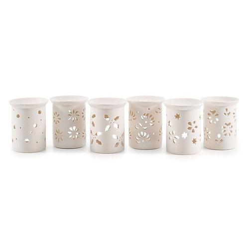 Brûle-Parfum Porcelaine Elegance H.10