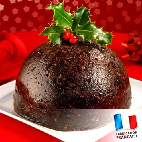 Pot de confiture Christmas Pudding
