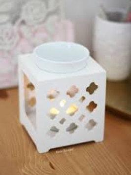 Brûle-Parfum Maroc Blanc