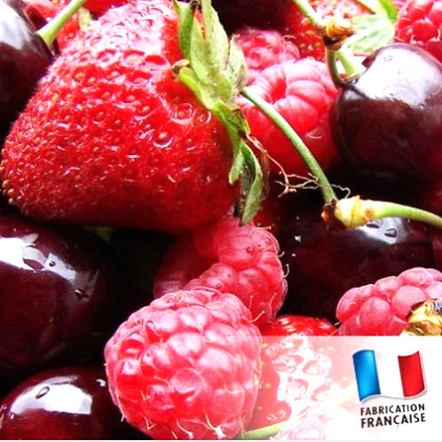 Bougie petite bonbonnière Fruits rouges