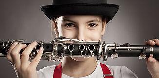 child_girl_teenager_clarinet_music_instr