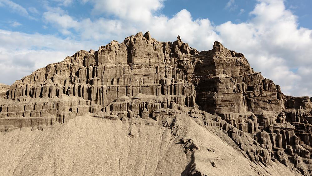 中田島砂丘に現れた楼閣