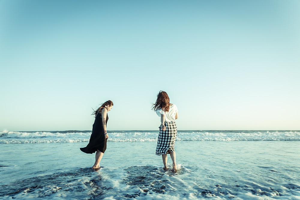中田島砂丘で夏を惜しむ
