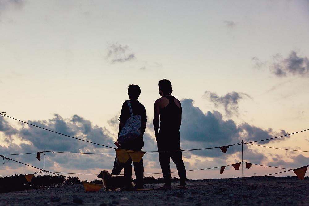 中田島砂丘で時空を超える