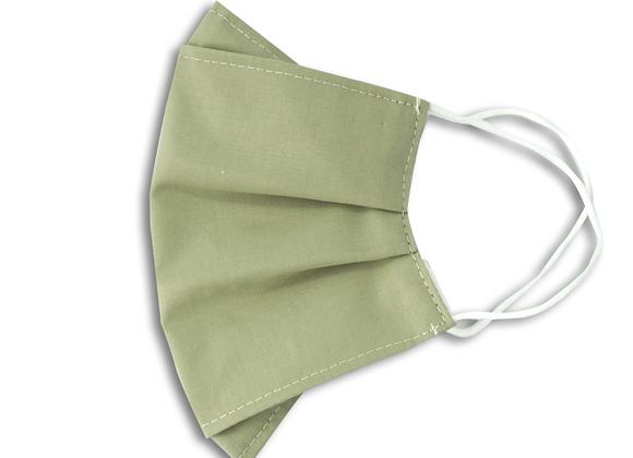 Heybez Yaprak Yeşil Bez Maske
