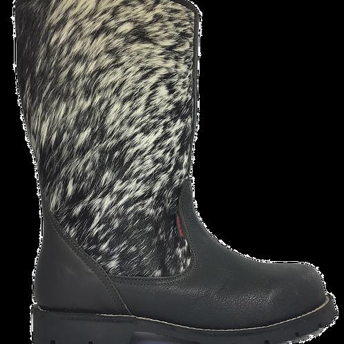Nguni Ugg-Style Boot Black