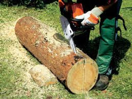HOW TO MAKE A GARDEN BENCH WITH YOUR STIHL CHAINSAW