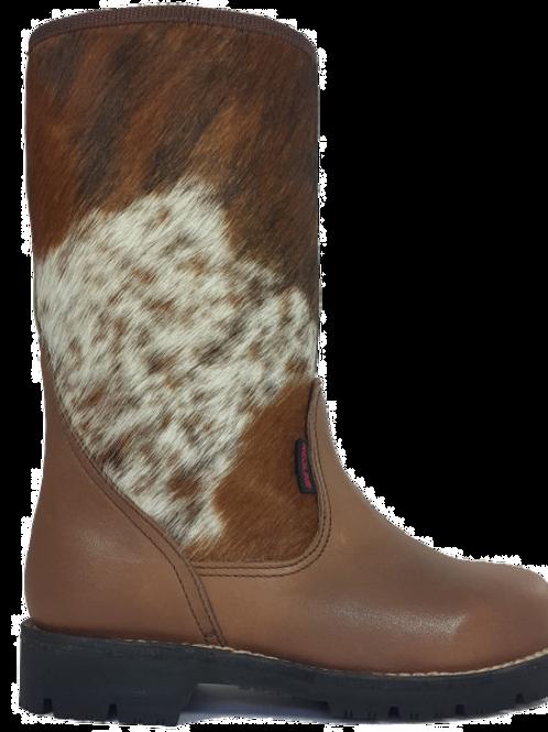 Nguni Ugg-Style Boot Brown