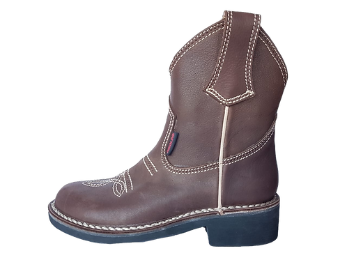 Cowboy Half Boot Plain