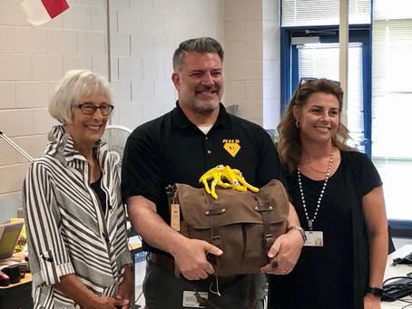 Congratulations to Mr. Bradshaw!