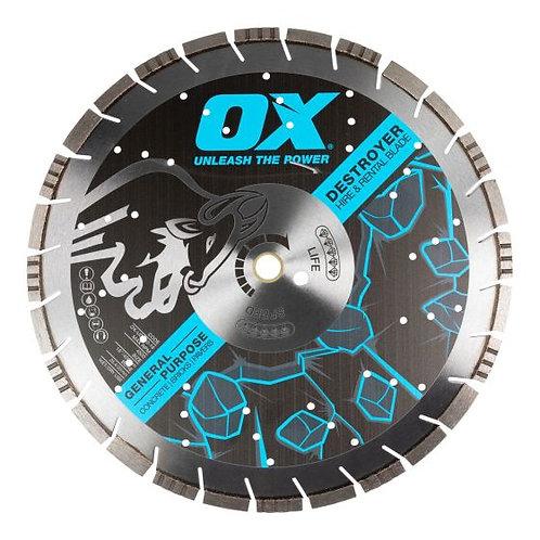 "Oxtool 16"" Concrete Saw Blade"