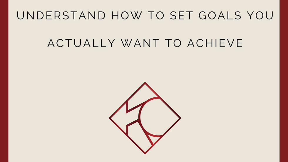 3 Core Steps to Goal Setting