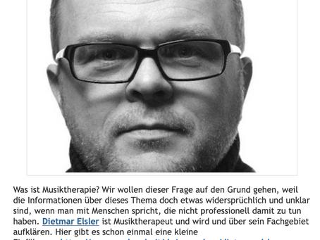 """Radio-Interview mit Reinhold Giovanett vom RAI Sender Bozen bei """"Radio Freier Fall""""."""