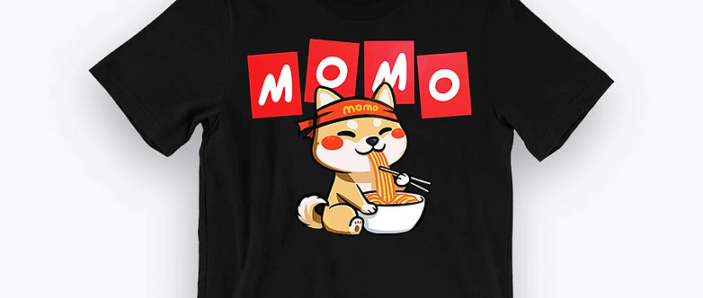 MOMO Flashcard Tee