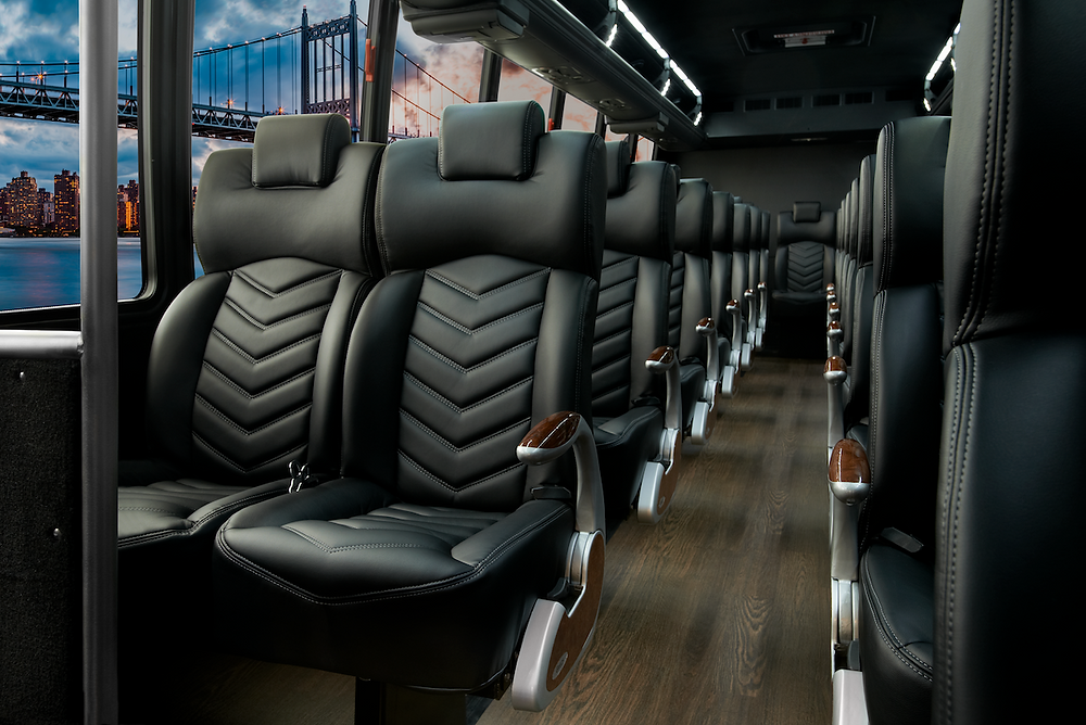 Charter Bus Interior