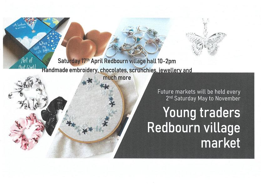 17.04.21 Redbourn Village Market.jpg Redbourn Village Hall