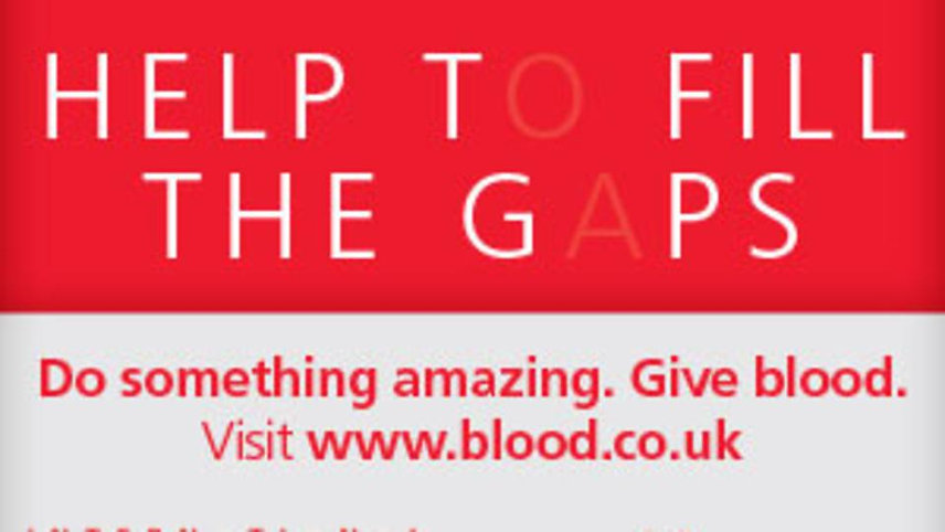 Blood Donation in Redbourn Village Hall 12th March 2019