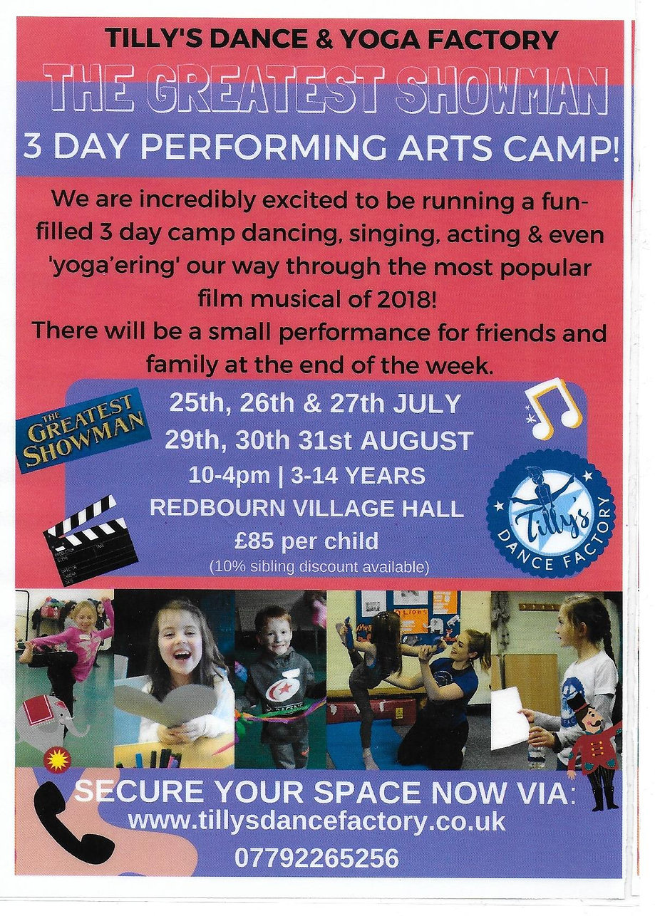 Tilly Dance Factory Summer camps August 2018.jpgc
