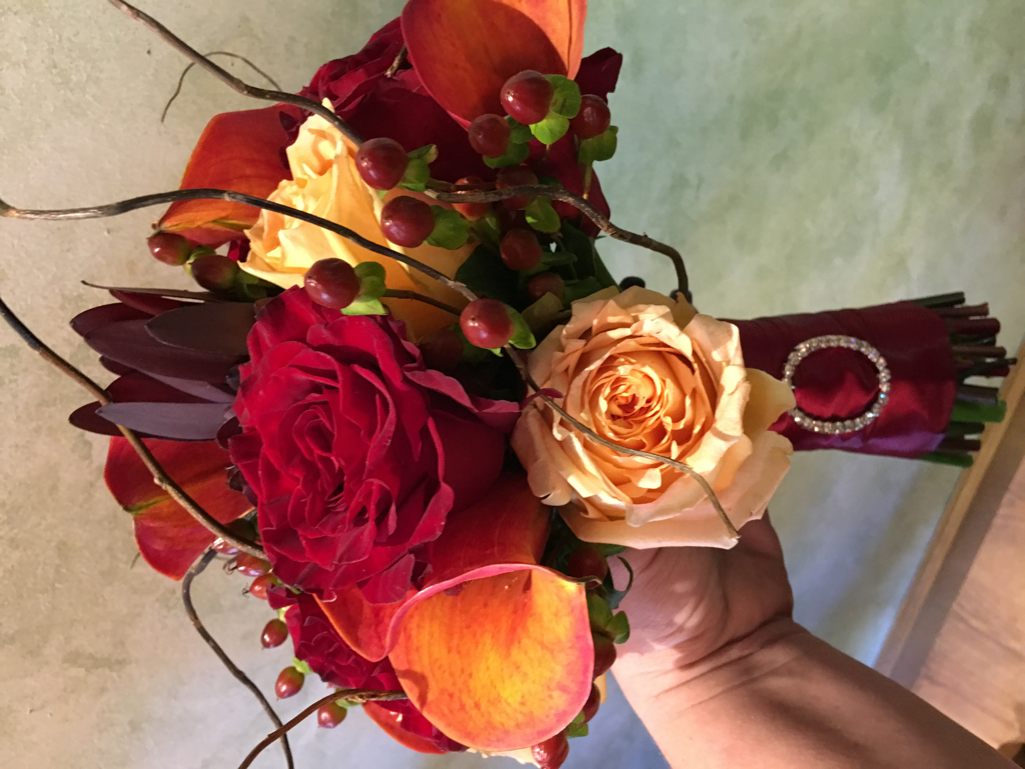 Fall Reds and Orange