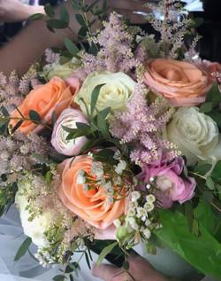 Peach and Lavender