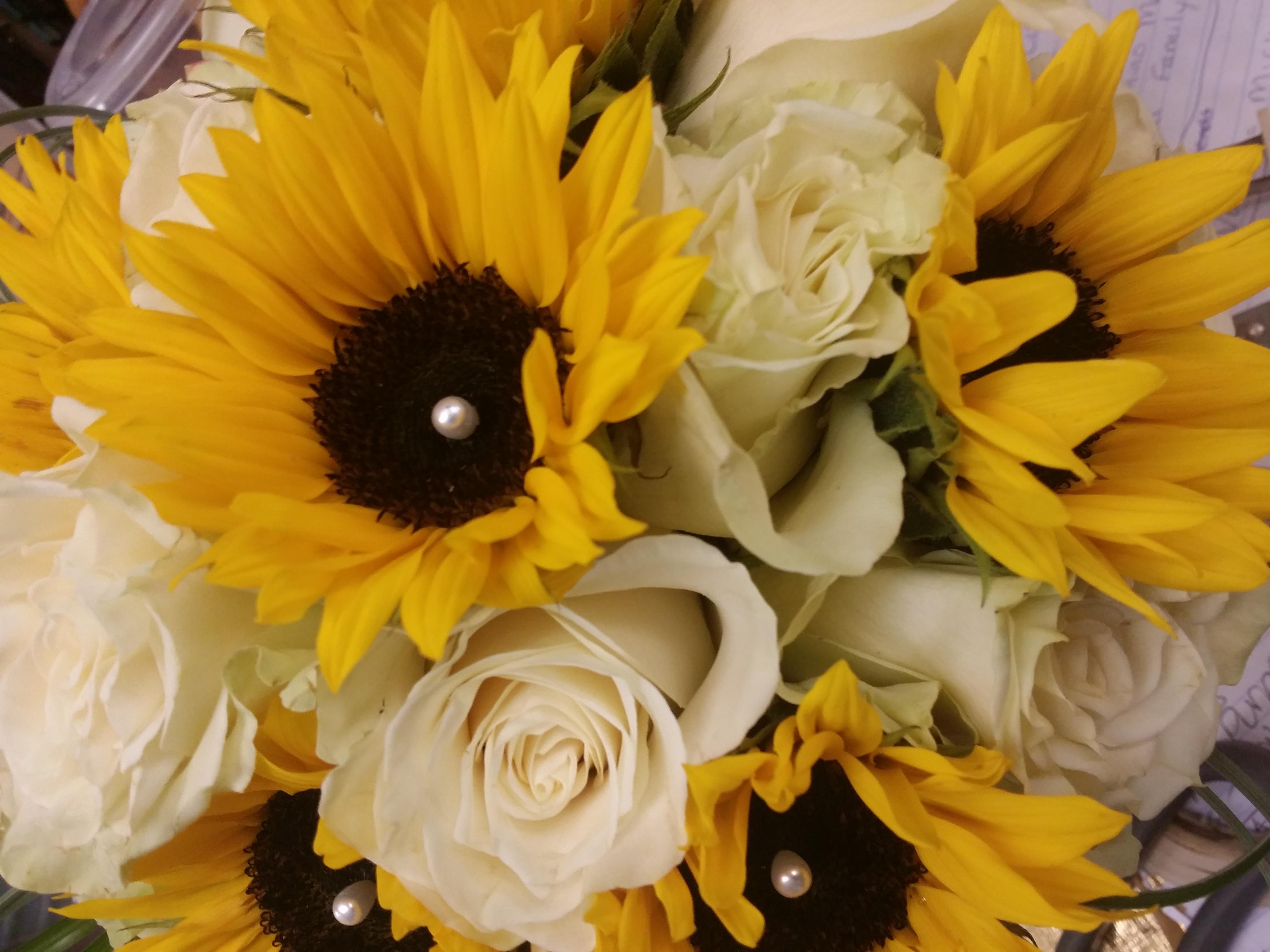 Sunflower Rose Bouquet