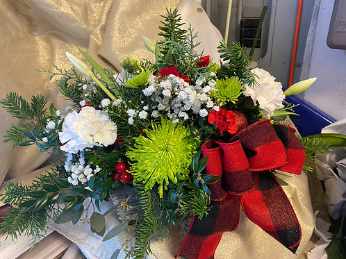 Holiday Rustic Centerpiece