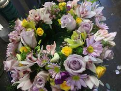Purple Rose Wreath $175.00