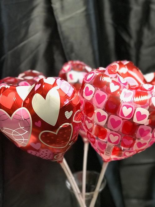 """Valentines Heart Balloon 8"""""""