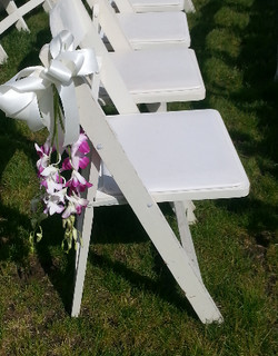 swag with ribbon for Chairs